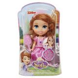 Papusa 15cm - Prinƫesa Sofia intai - Roz