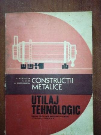 Constructii metalice utilaj tehnologic- V. Marginean