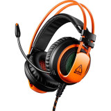Casti Gaming Canyon Corax Orange