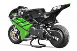 Motocicleta electrica Pocket Bike NITRO Eco TRIBO 1060W 36V Verde