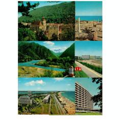 Lot 6 carti postale Romania 1965-76 editura Kruger
