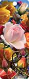 Semn de carte 3D - Roses