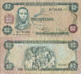 1982 , 2 dollars ( P-65b ) - Jamaica