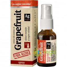 Grapefruit Cu Argint Coloidal Fara Alcool Spray 20ml