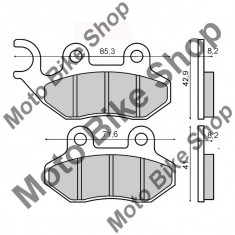 MBS Placute frana SYM 125 Brembo omologate, Cod Produs: 225102750RM
