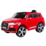 Cumpara ieftin Masinuta electrica Chipolino SUV Audi Q7 red cu roti EVA