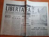 """Ziarul libertatea 5 octombrie 1990-art despre filmul """"sezonul pescarusilor"""""""