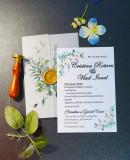Invitatie nunta cu sigiliu OPIS043