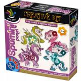 Spuma de modelat - Set Creative Kids Spumini - Ponei