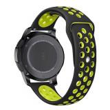 Curea silicon Tech-Protect Softband Samsung Gear S3 Black/Lime
