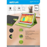 Husa Universala Astrum TC110 Tableta 9 / 10.1 inch Negru / Verde