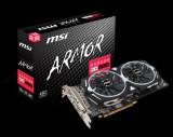 Placa video MSI Radeon RX 580 ARMOR 8G OC, PCI