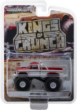 Cumpara ieftin 1979 Ford F-250 Monster Truck - Maroon with White Stripes Solid Pack - Kings of Crunch Series 1 1:64