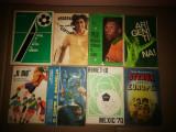 Lot 8 carti vechi sport: fotbal,tenis.