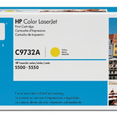 Toner C9732A yellow original HP C 9732A