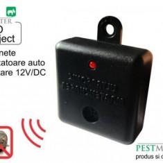 Aparat cu ultrasunete anti rozatoare pentru autovehicule Pestmaster, Auto Pest reject, 12 V