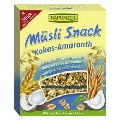 Musli Snack Cocos si Amarant Rapunzel 116gr Cod: 1438430