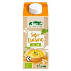 Crema de Soia pentru Gatit Fara Gluten Bio 200ml Allos Cod: 147598