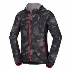Jachetă bărbați alergare NORTHFINDER Deon BU-3571SII, Negru, S