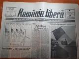 """Ziarul romania libera 22 februarie 1990-articolul """" maladia 12 ianuarie """""""