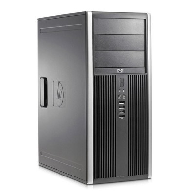 Calculator HP 6300 Tower, Intel Core i7 Gen 3 3770 3.4 GHz, 4 GB DDR3, 250 GB HDD SATA, DVDRW, Windows 10 Pro, 3 Ani Garantie foto