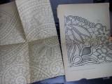 lot 14 planse mari cu modele/tipare de cusaturi traditionale romanesti,T.GRATUIT