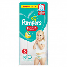 Scutece-chilotel Pampers Active Baby Pants 5 Jumbo Pack 48 buc