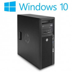 Workstation refurbished HP Z420, Intel Xeon E5-1620, Win 10 Home