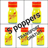 Cumpara ieftin 5 X RUSH UK10ML,POPPERS,AROMA CAMERA ,SIGILAT,CALITATE,ORIGINAL POPERS