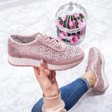 Pantofi sport Piele dama roz Iamori-20-rl