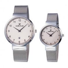 Set ceasuri pentru dama si barbati, Daniel Klein Pair, DK11977-5