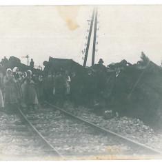 4732 - CAMPULUNG TISA Ethnics & railroad catastrophe - old PC real PHOTO  unused, Necirculata, Fotografie