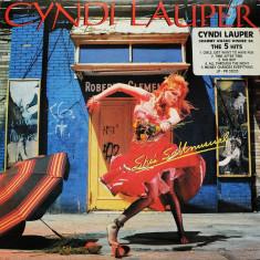 Cyndi Lauper - She's So Unusual (LP - Germania - VG)