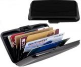 Portofel elegant pentru carduri sau documente - carcasa din aluminiu, Port card