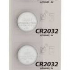 Baterie buton litiu CR2032 3V 5buc/blister HQ