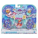 Set mini figurine My Little Pony, Cutie Mark Crew - Championship Party, E3898