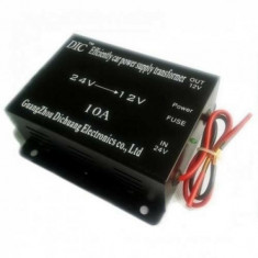 Convertor 24v - 12v 10 A