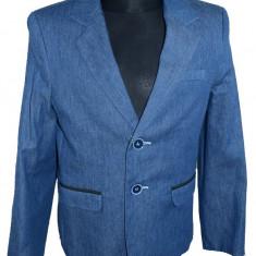 Sacou casual pentru baieti-SEMINA SMM0526-AL, Albastru