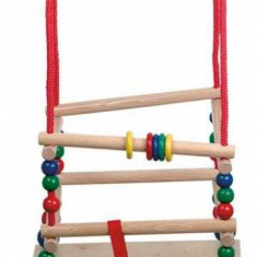Leagan din lemn pentru copii, Egmont toys, 120 x 40 x 40 cm