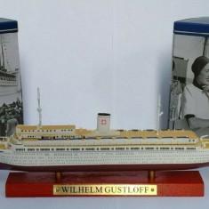 Macheta Transatlantic Liner Wilhelm Gustloff 1937  scara 1:1250, Alta