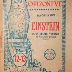 EINSTEIN - RUDOLF LAMMEL