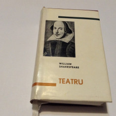 WILLIAM SHAKESPEARE - TEATRU {1964, editie de lux, pe foita de tigarete RF14/1
