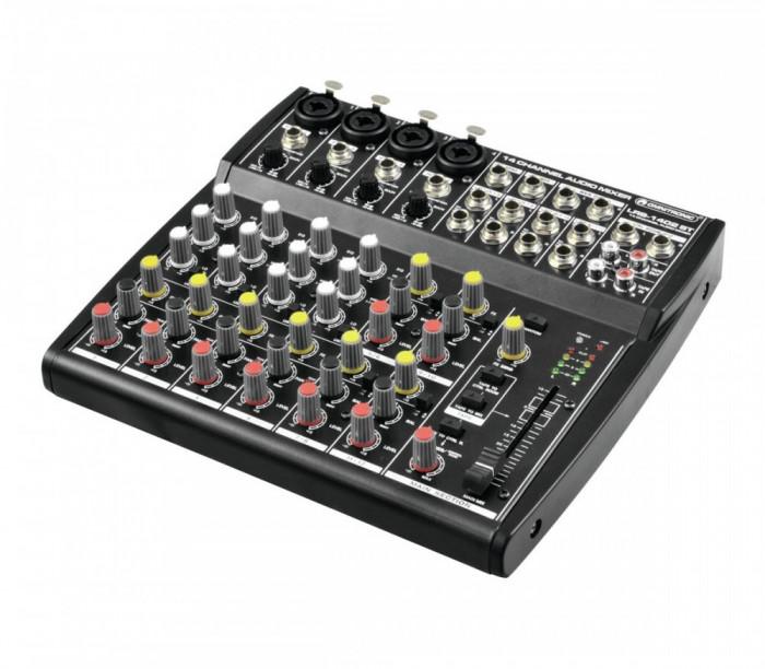 Mixer cu inregistrare Omnitronic LRS-1402ST