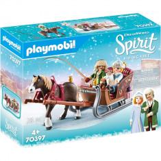 Playmobil Spirit III - Plimbare cu sania