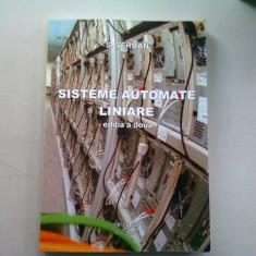 SISTEME AUTOMATE LINIARE - S. SERBAN