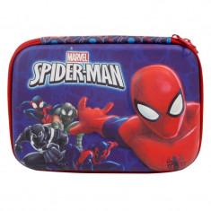 Penar baieti Spiderman, 20 cm, Albastru/Rosu