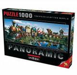 Cumpara ieftin Puzzle panoramic Anatolian Story Train, 1000 piese