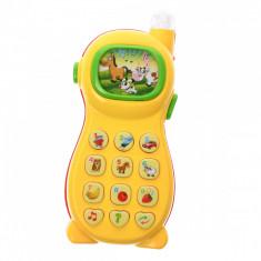 Telefon de jucarie interactiv cu proiectie, sunete si luminite - 3331008