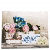 Tablou Home, flori, dimensiuni 50x2x40 cm