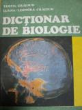 DICTIONAR DE BIOLOGIE- TEOFIL CRACIUN SI LUANA LEONORA CRACIUN, BUC. 1989